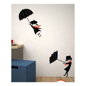Dekorativní nálepka na stěnu Umbrella