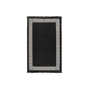 Béžovo-černý oboustranný koberec Justed,120x180cm
