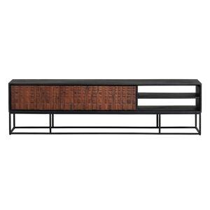 TV stolek z exotického dřeva sheesham BePureHome
