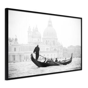 Plakát v rámu Artgeist Symbols of Venice, 30 x 20 cm