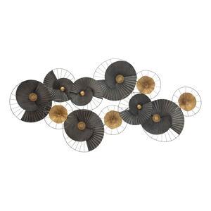 Kovová závěsná dekorace MauroFerretti Darky, 119x59,5cm