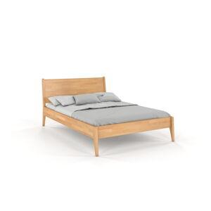 Dvoulůžková postel z bukového dřeva Skandica Visby Radom, 140x200cm