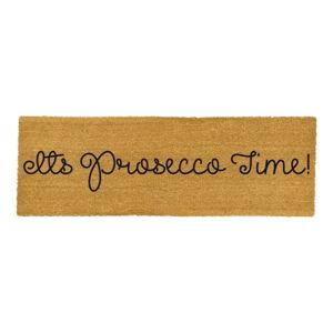 Dlouhá rohožka z přírodního kokosového vlákna Artsy Doormats Prosecco Time,120x40cm