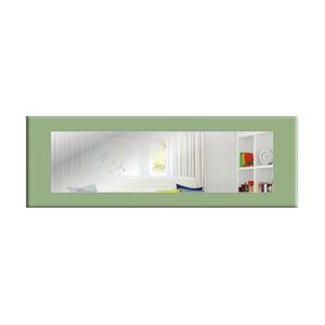 Nástěnné zrcadlo se zeleným rámem Oyo Concept Eve,120x40cm