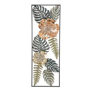Železná nástěnná dekorace s přírodními motivy Mauro Ferretti Too Nature