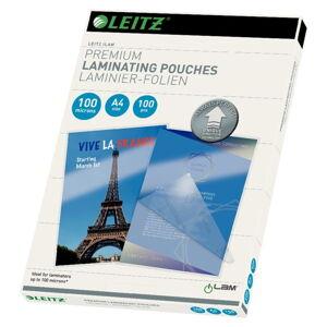 Sada 100 laminovacích kapes Leitz Home Office, A4, 100 mic