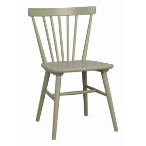 Světle zelená jídelní židle Rowico Akita