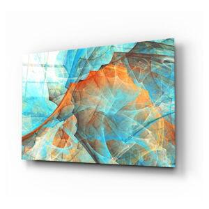 Skleněný obraz Insigne Colored Nets,110 x70cm