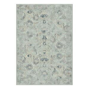 Světle modrý koberec ze směsi viskózy a bavlny Safavieh Serafina Vintage 200x279cm