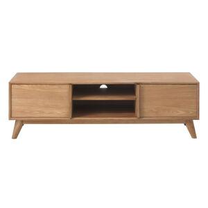 TV stolek v dubovém dekoru Unique Furniture Rho