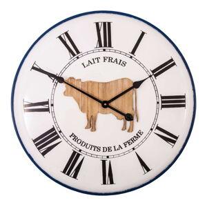 Nástěnné hodiny Antic Line Lait Frais, ø 61,5 cm