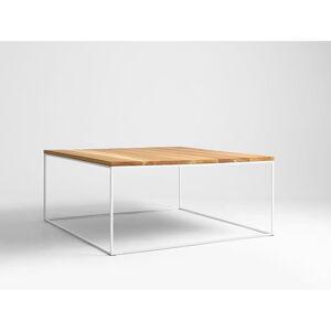 Konferenční stolek s bílou konstrukcí Custom Form Tensio, 80 x 45 cm