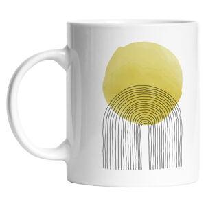 Keramický hrneček Butter Kings Rising Sun, 330 ml