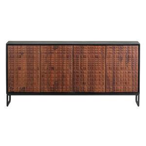 Příborník z exotického dřeva sheemsham BePureHome, 170 x 80 cm