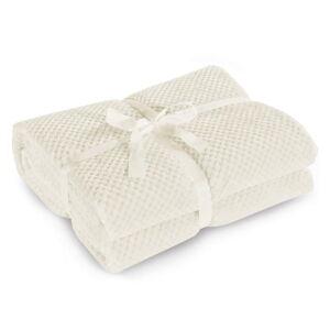 Krémová deka z mikrovlákna DecoKing Henry, 150x200cm