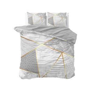 Bavlněné povlečení na dvoulůžko Pure Cotton Graphic,200x200/220cm