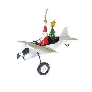 Vánoční závěsná ozdoba G-Bork Airplane