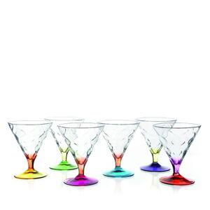 Sada 6 sklenic na zmrzlinu RCR Cristalleria Italiana Norma