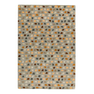 Koberec Asiatic Carpets Pixel Grey Multi, 120 x 170 cm