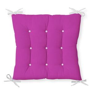 Podsedák s příměsí bavlny Minimalist Cushion Covers Lila,40x40cm