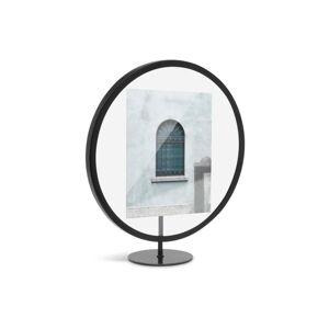 Černý volně stojící rám na fotografii o rozměru 12 x 18 cm Umbra Infinity