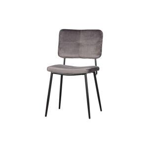 Sada 2 šedých jídelních židlí WOOOD Kaat
