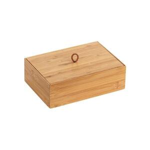 Bambusový box svíkem Wenko Terra, šířka 22cm