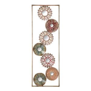 Kovová nástěnná dekorace Mauro Ferretti Gliss II, délka90 cm