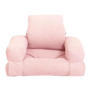 Dětské rozkládací křesílko Karup Design Mini Hippo Pink