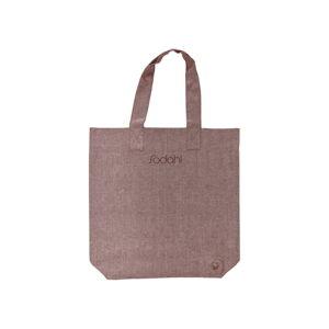 Růžová bavlněná nákupní taška Södahl