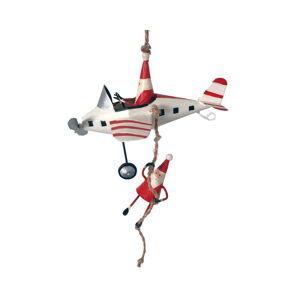 Vánoční závěsná ozdoba G-Bork Santas on Fly