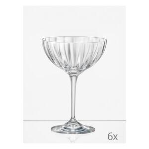 Sada 6 koktejlových sklenic Crystalex Kate Optic,210ml