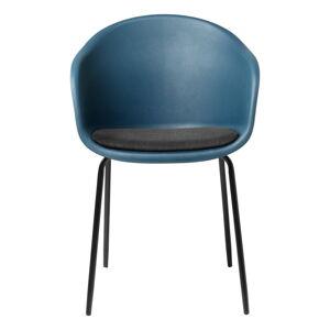 Modrá jídelní židle Unique Furniture Topley