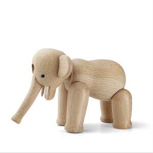 Soška z masivního dubového dřeva Kay Bojesen Denmark Elephant