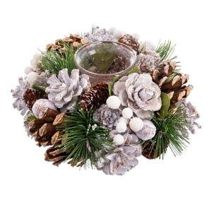 Vánoční svícen na 1 svíčku Unimasa Nevada