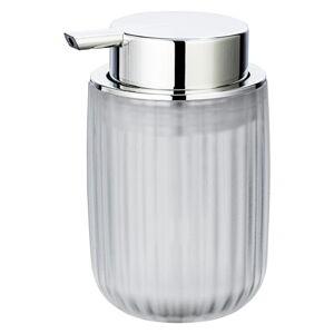 Průhledný dávkovač mýdla Wenko Agropoli Frost, 250ml