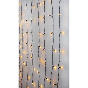 Venkovní světelný LED řetěz Best Season Curtain, 80 světýlek