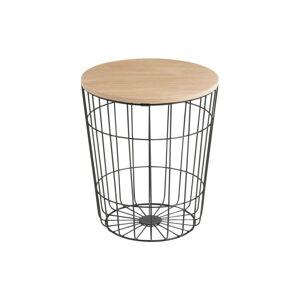 Odkládací stolek Actona Lotus Darko,ø 34 cm