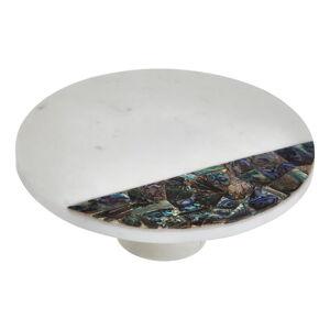 Bílý mramorový servírovací podnos Premier Housewares Paua