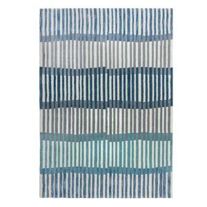 Modrý koberec Flair Rugs Linear Stripe, 160 x 230 cm