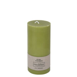 Zelená svíčka Eco candles by Ego dekor Friendly, doba hoření 50 h