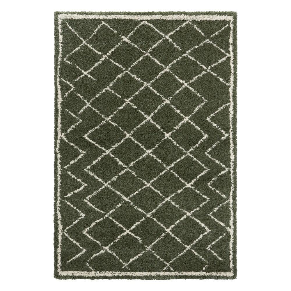 Zelený koberec Mint Rugs Loft, 80 x 150 cm