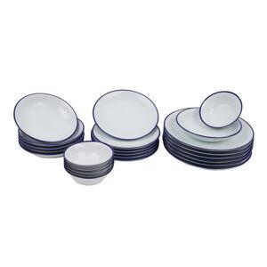 24dílná sada porcelánového nádobí Kutahya Margaka