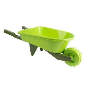 Dětské zelené kolečko Esschert Design, šířka 65,8 cm
