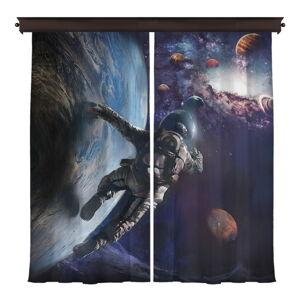 Sada 2 závěsů Curtain Sado, 140 x 260 cm