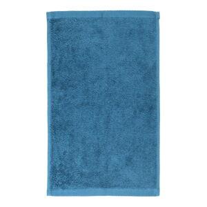 Modrý bavlněný ručník Boheme Alfa, 30 x 50 cm