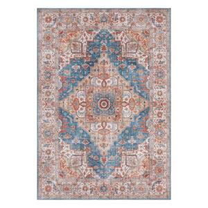 Modro-červený koberec Nouristan Sylla, 200 x 290 cm