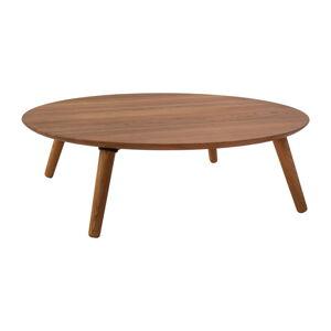 Konferenční stolek z jasanového dřeva Ragaba Contrast Slice