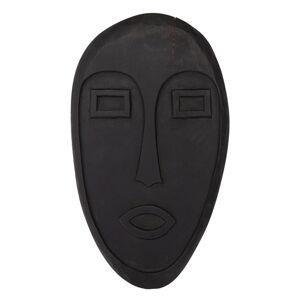 Černá závěsná dekorace ze dřeva mango WOOOD Xavi