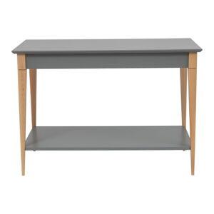 Šedý konzolový stolek Ragaba Mimo, šířka 85 cm
